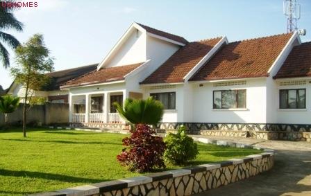 posh house in Ggaba