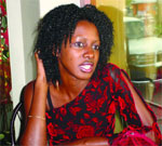 Doreen Kayongo, fifth Best TV presenter 2004 in a New Vision poll. Hated on by sections of the press